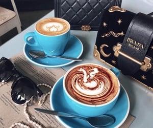 coffee, Prada, and bag image