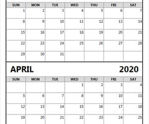 2020 calendar, april 2020 calendar, and march 2020 calendar image