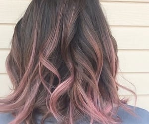 beautiful hair, blonde hair, and dark hair image
