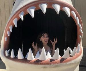 aquarium, california, and girl image