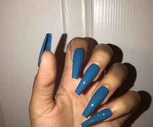 nails, beauty, and nailart image