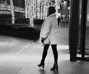 b&w, black and white, and cidade image