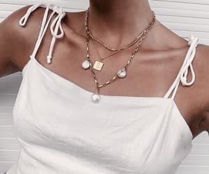 jewelry, necklace, and fashion image