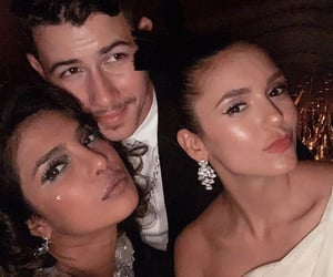 beauty, nick jonas, and Nina Dobrev image