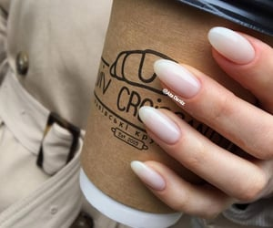 almond nails image
