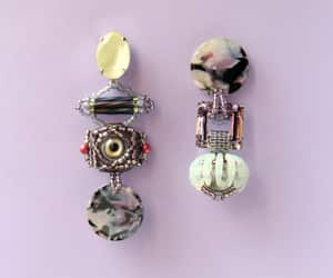 etsy, weird jewelry, and funky earrings image