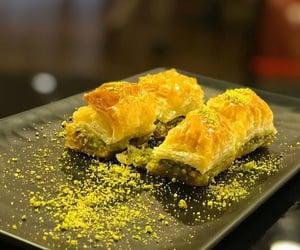 baklava, delicioso, and comida image