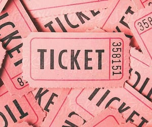 pink and ticket image