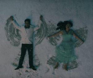 movie, winter, and snow angels image