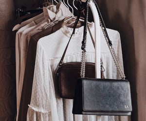 bag, clothes, and handbags image
