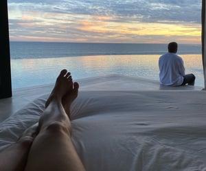 couple, kanye west, and vacation image