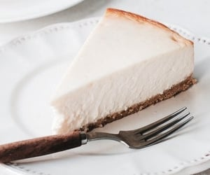 cheesecake, food, and sweet image