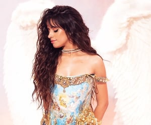 camila cabello, romance, and angel image