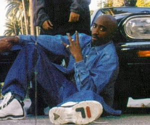 2pac, 90s, and legend image