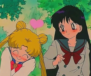 anime, sailor moon, and sailor mars image