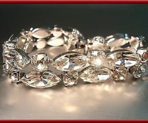 etsy, bridal wedding, and rhinestone bracelet image