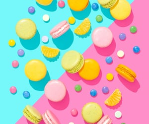 macaroons and commercial photography image
