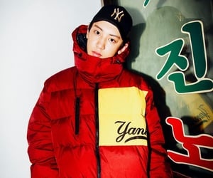 exo, chanyeol, and photoshoot image