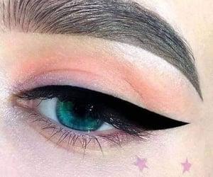 makeup, beautiful, and beauty image