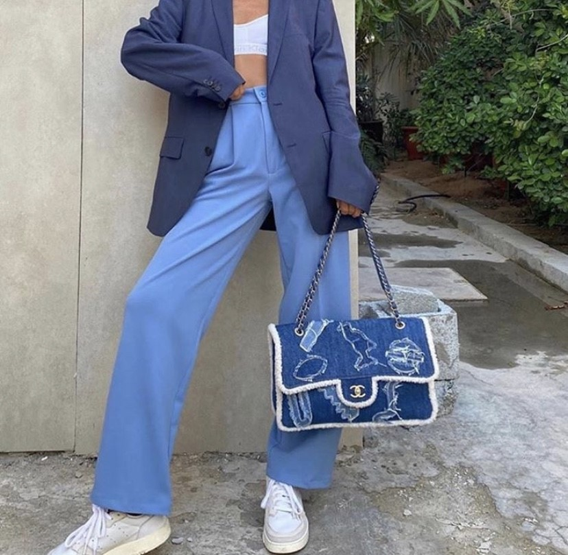 aesthetic, chanel, and denim image