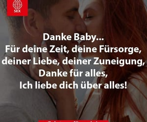 baby, danke, and spruch image
