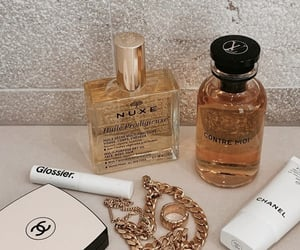 chanel, perfume, and jewelry image