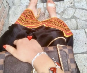 Louis Vuitton, kabyle, and robe image