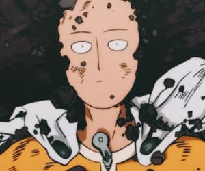 anime, one punch man, and saitama image