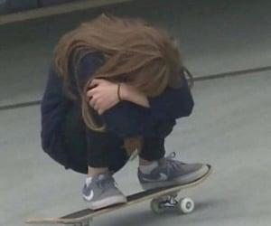 alternative, girl, and crying image