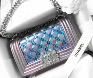 bag, handbag, and chanel image