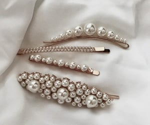 accessories, white, and hair image