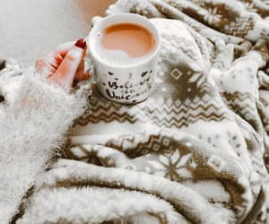 blanket, cosy, and fluffy sweater image