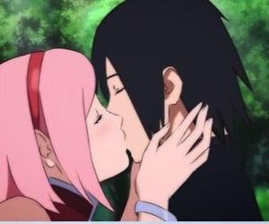 anime, sasuke uchiha, and konoha image
