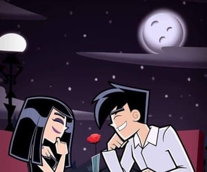 love, cartoon, and date image