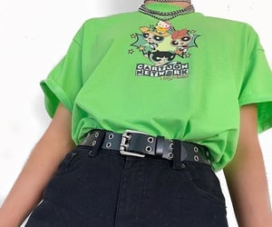 clothes, fashion, and green image