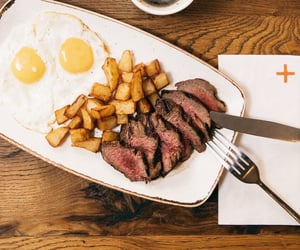 beef, coffee, and eggs image