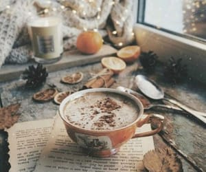 beige, cozy, and coffee image