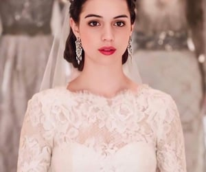 wedding, reign, and dress image