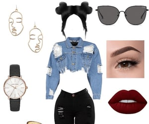 beauty, jewelry, and outfits image