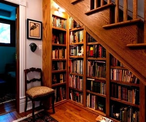 aesthetic, bibliophile, and library image