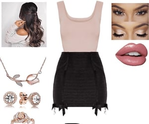 beauty, jewelry, and night out image