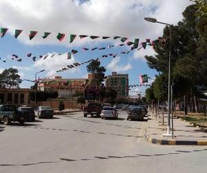 Libya, libyan flag, and غريان image