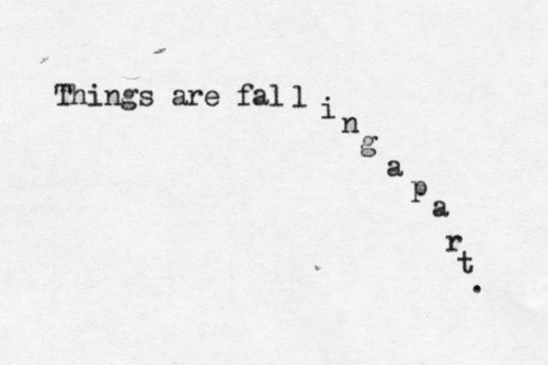 article, falling apart, and poem image