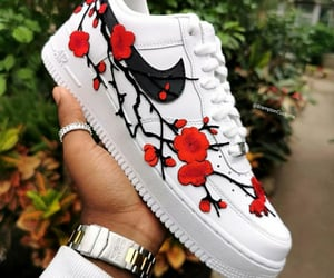 air force, black, and blossom image