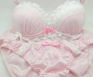 bra, panties, and bras image