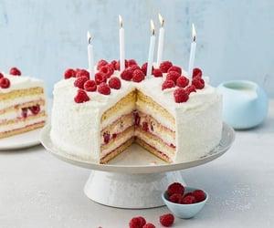 birthday, FRUiTS, and cake image