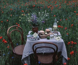 flowers, spring, and food image