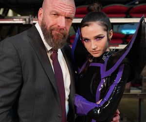 poppy, wwe, and triple h image