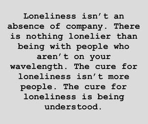 alone, text, and loneliness image
