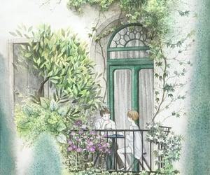 illustration, wallpaper, and rosa image